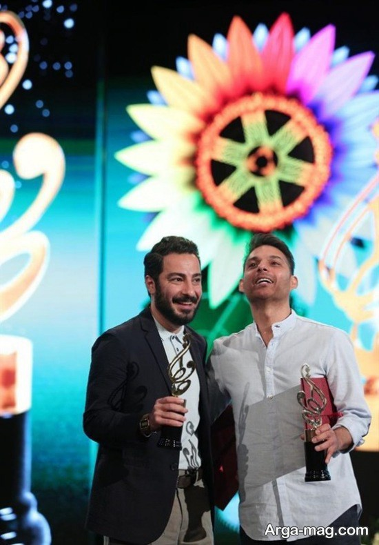بازیگران محبوب در جشن حافظ 98