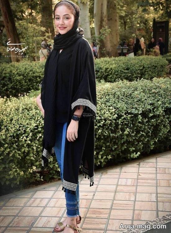 عکس های مهتاب ثروتی در اکران فیلم رضا
