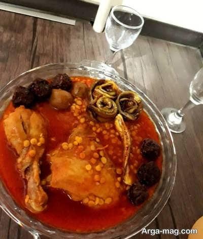 دستور پخت خورش قیمه با مرغ