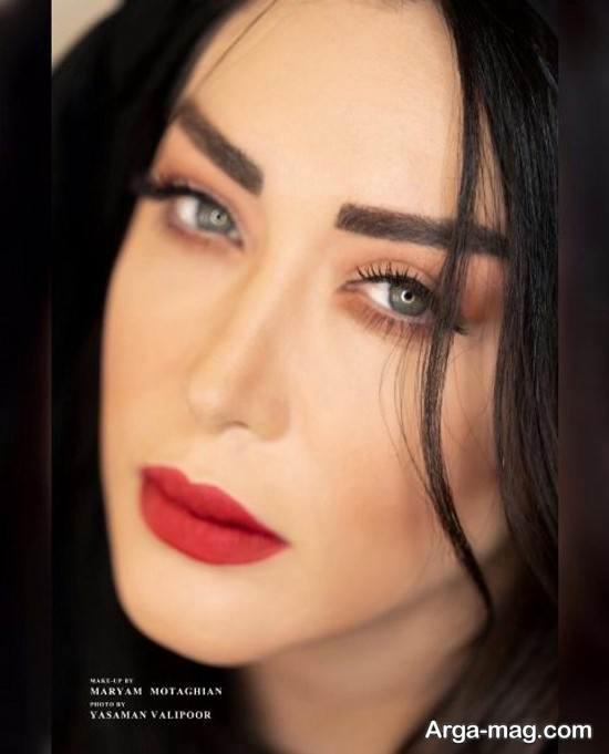 عکس مدلینگ از سارا منجزی
