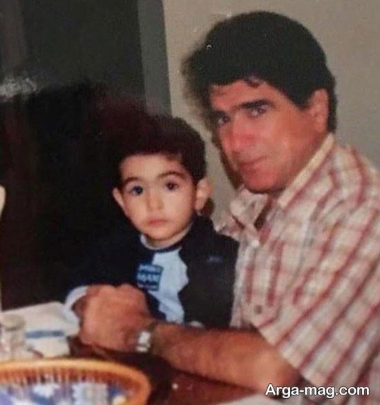 محمدرضا شجریان و فرزندش
