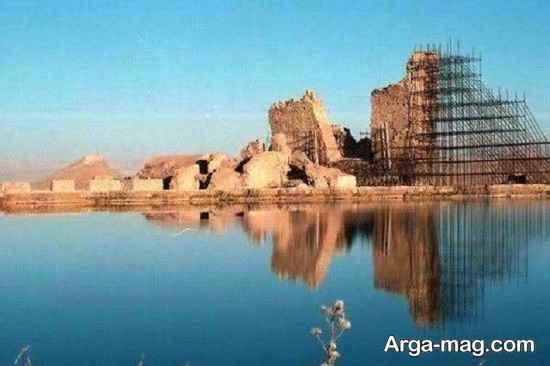 تخت و دریاچه سلیمان