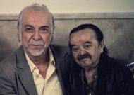 اسدالله یکتا و همسرش در اکران فیلم نیوکاسل