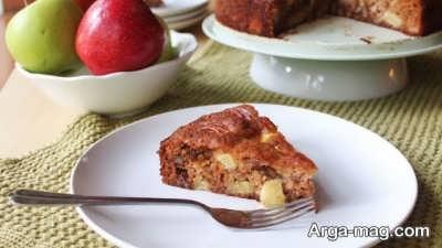 کیک سیب خوشمزه