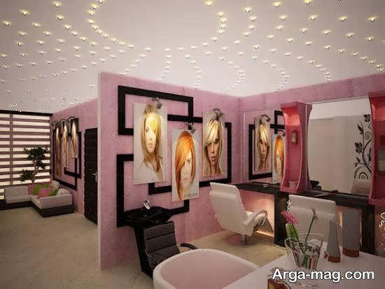 انواع طراحی سالن زیبایی چذاب و خیره کننده