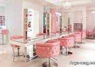 دکوراسیون سالن زیبایی با آینه کاری های زیبا و جذاب
