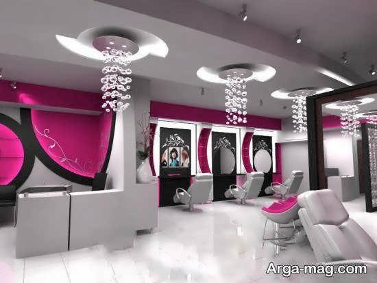 ایده های دیزاین سالن زیبایی زنانه با طرح و سلیقه ای زیبا