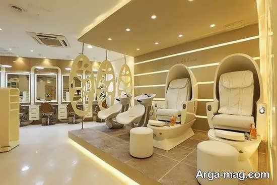 ایده های دیزاین سالن زیبایی نو و مدرن