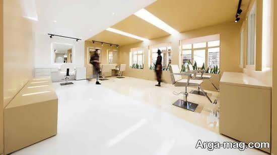 انواع دیزاین سالن زیبایی جذاب و با شکوه