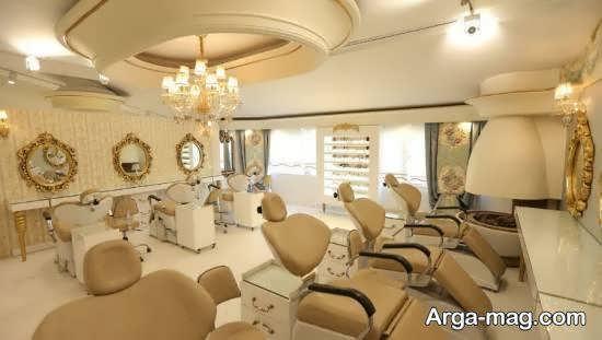 ایده های دیزاین سالن زیبایی جذاب و ایده آل