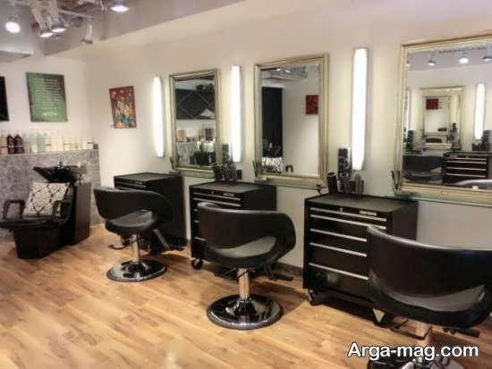 انواع دکوراسیون سالن زیبایی خاص و متفاوت برای خانم های آرایشگر