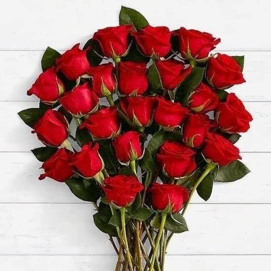 زیبا ترین و جذاب ترین تصویر دسته گل های رز سرخ