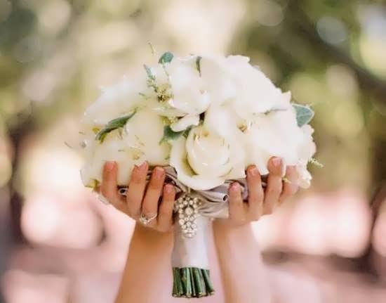 تصویر دسته گل عروسی زیبا و عاشقانه برای پروفایل
