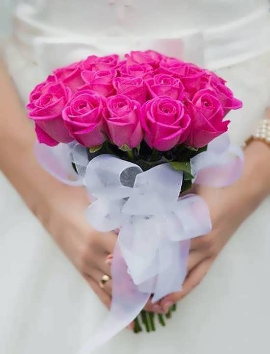 عکس دسته گل زیبا و فوق العاده برای پروفایل عروس خانم ها