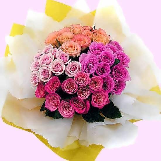 تصویر دسته گل احساسی و زیبا برای مراسم عروسی