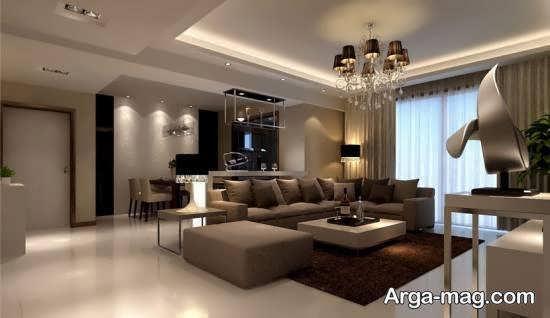 طراحی باشکوه و زیبای دکوراسیون خانه
