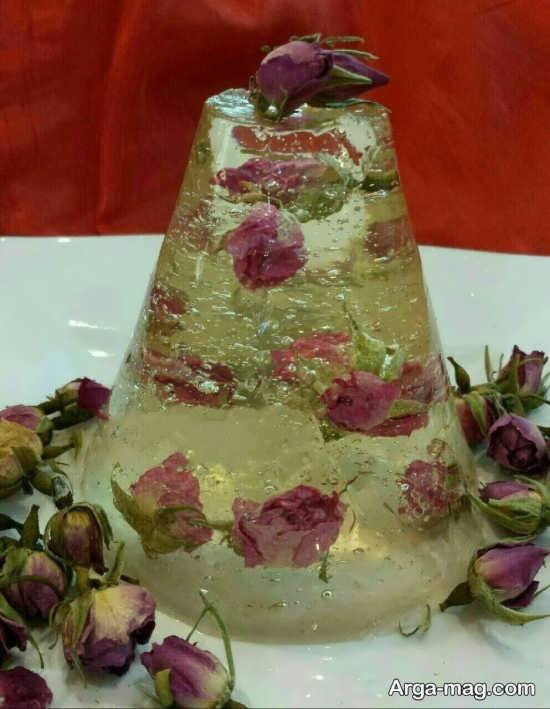 دکوری دست ساز از گل خشک