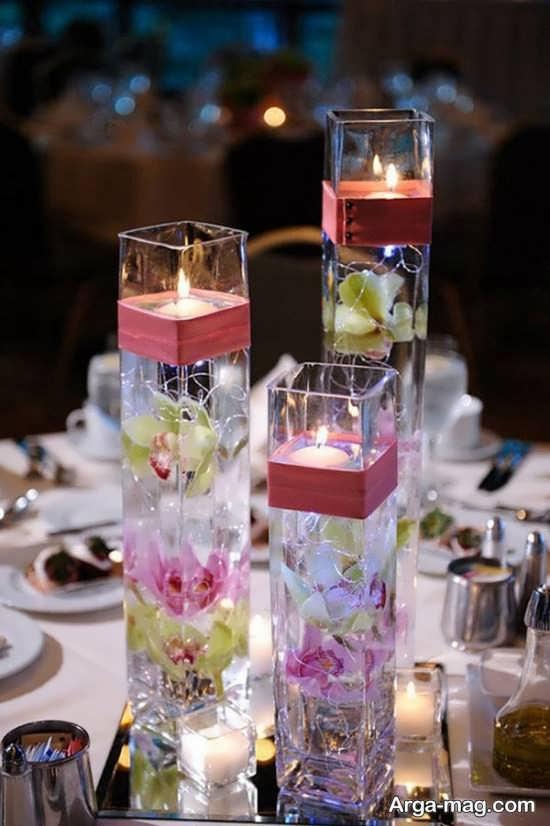 طراحی زیبا با گلهای خشک شده