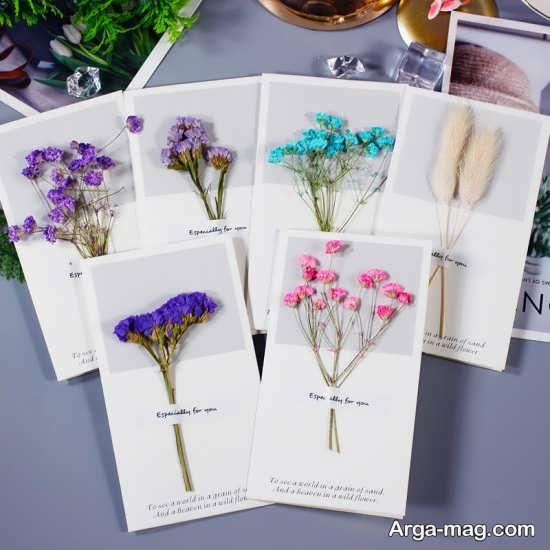 ساخت دکوری های تزیینی با گل خشک تزیینات جالب گل خشک
