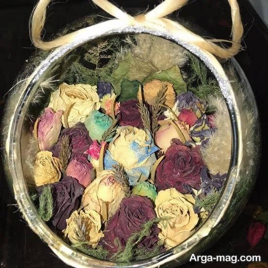 تزئینی جدید و بروز از گل خشک