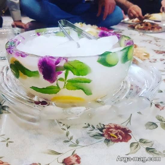تزئینی زیبا از گل خشک