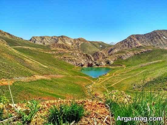 مناطق سرسبز فیروزکوه