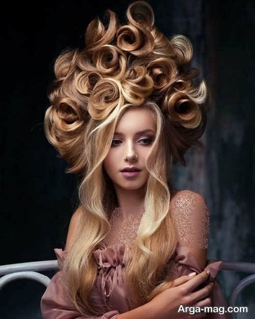 مدل مو دخترانه فانتزی