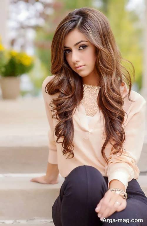 مدل مو بلند دخترانه