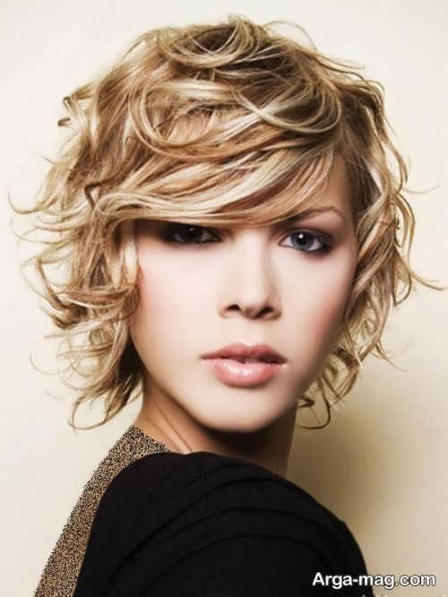 مدل مو فر کوتاه دخترانه