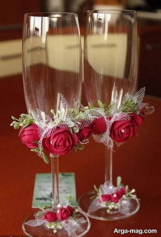 تزئین خاص و زیبای جام عسل
