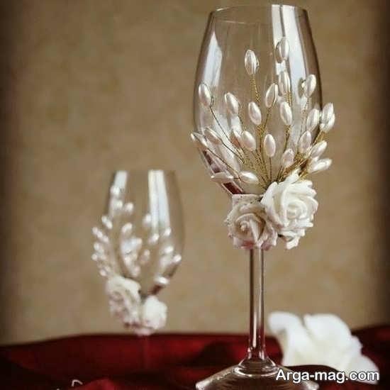 تزئین متفاوت جام عسل