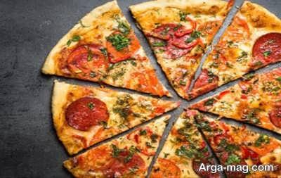 روش تهیه پیتزا ایتالیایی