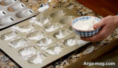 طرز تهیه شیرینی مادلین