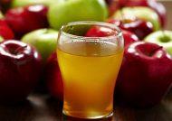 نوشیدنی سرد سیب خوش مزه