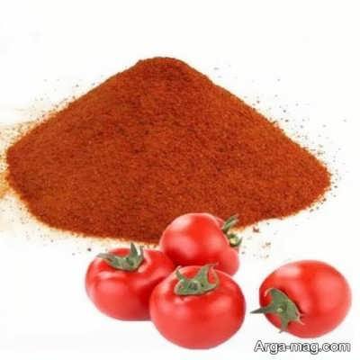 روش ساخت پودر گوجه