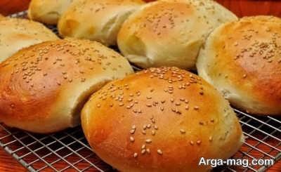 طریقه پخت نان گردویی