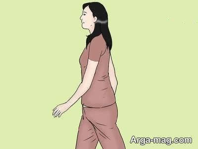نحوه صحیح راه رفتن