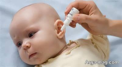 نشانه های عفونت گوش نوزاد