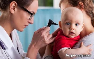 چطور گوش نوزاد را درمان کنیم