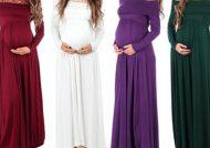 مدل لباس بارداری بلند