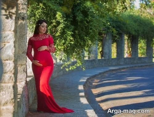 لباس بارداری قرمز