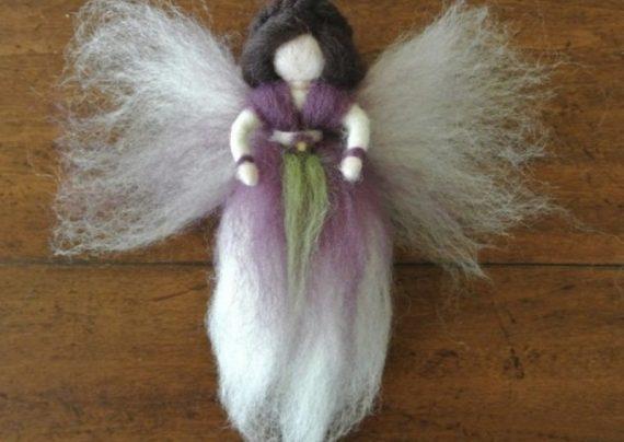 ساخت عروسک فرشته