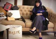 تبلیغات مریم معصومی در سالن های زیبایی