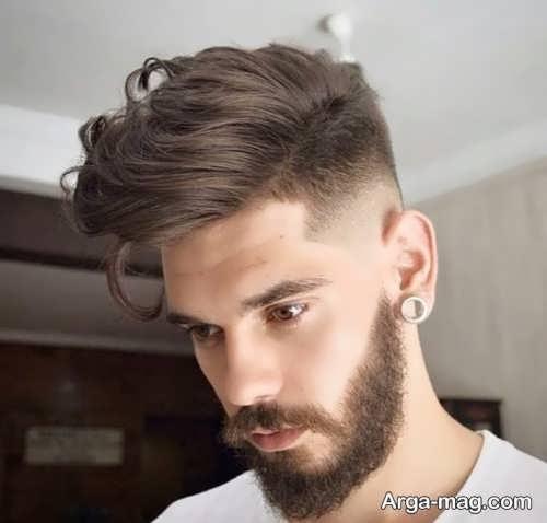 مدل موی نیمه بلند مردانه