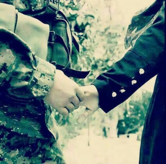 عکس عاشقانه و جالب سربازی