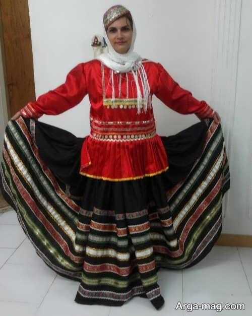 مدل لباس زنانه محلی