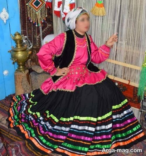 مدل لباس محلی شیک