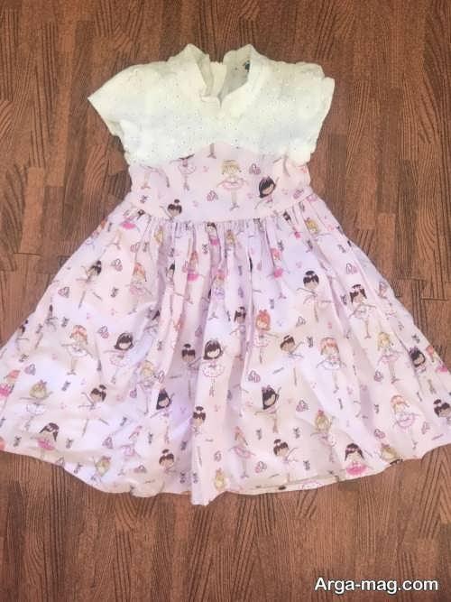 مدل لباس طرح دار برای کودک