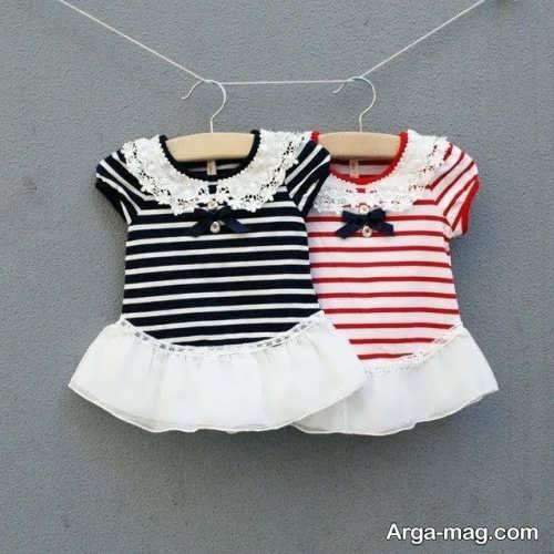 پیراهن طرح دار برای کودک