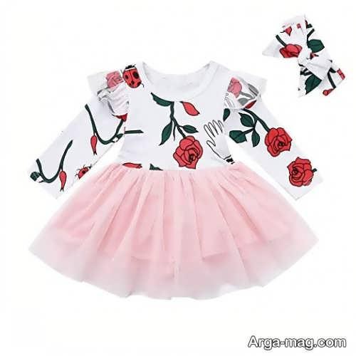 لباس طرح دار کودک